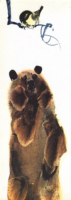 Mirko Hanak - Animal Folk Tales - Bear love the rendering of the bear's fur