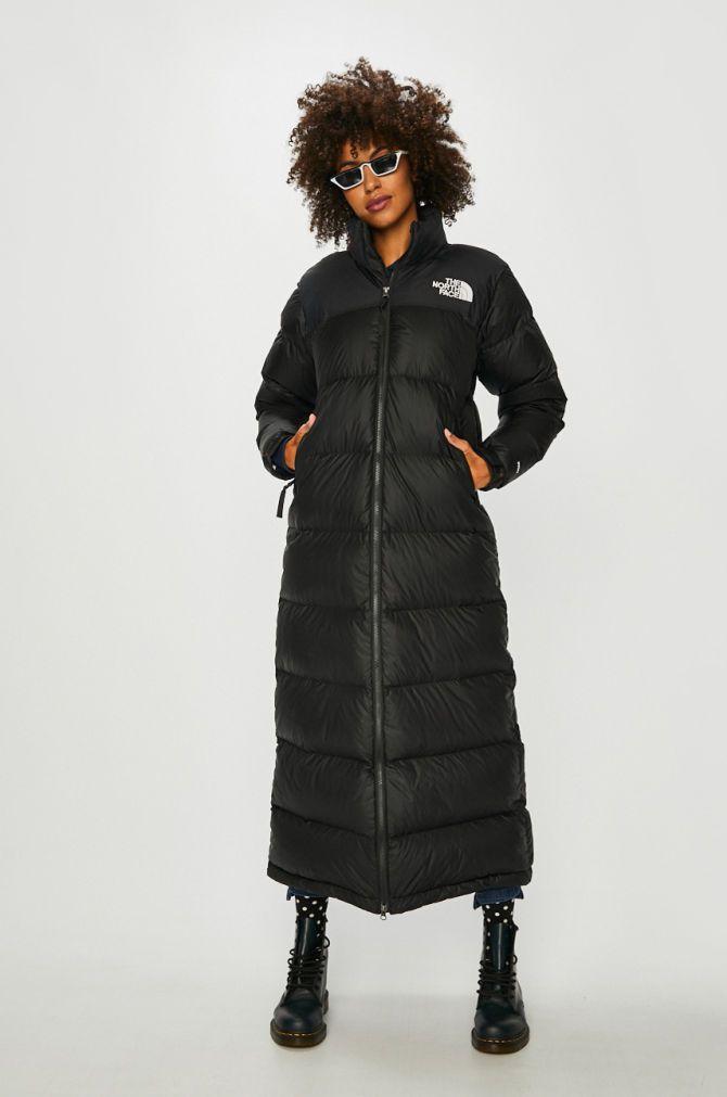 cel mai ieftin pret moda inalta o noua sosire The North Face - Geaca de puf Nuptse Duster negru 4920-KUD0IF ...