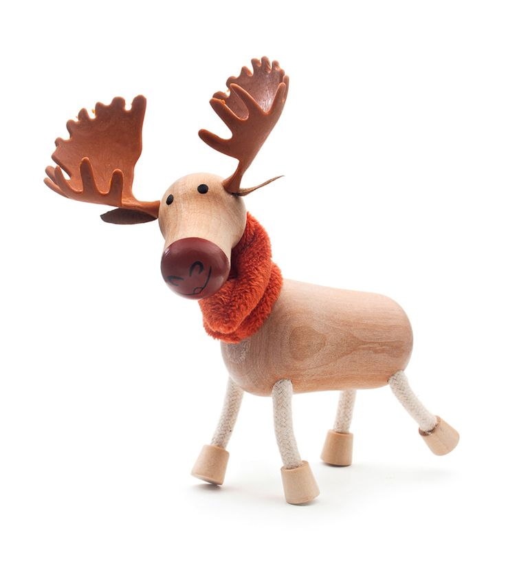Moose From Anamalz from The Wooden Toybox