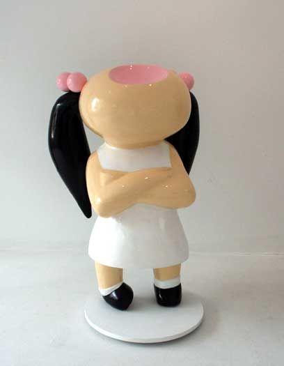 Very Bored Girl. Frank van Reenen frank.co.za-Sculptures