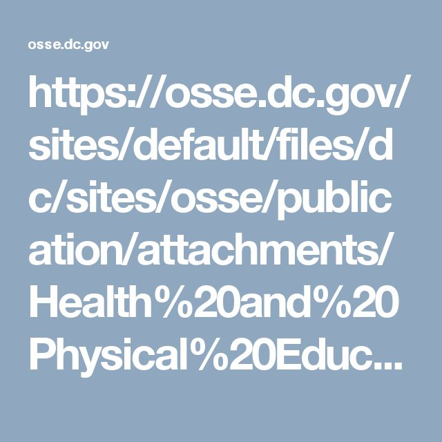 This booklet, created by the DC Office of the State Superintendent of Education, was designed to promote literacy on different health and physical education issues. Covering all grades, this resource offers books on many different subjects that meet CC standards. (Dayton C.)