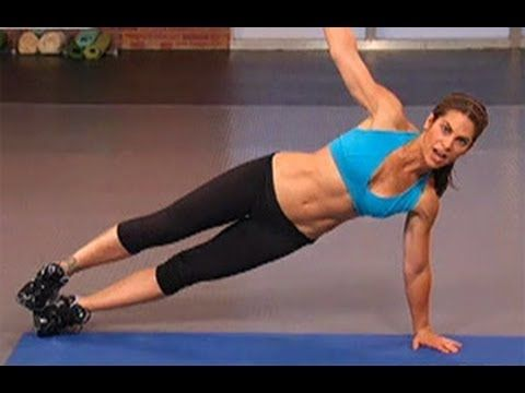 Jillian Michaels Core Power Workout is a short abdominal exercise that focuses on building core strength, sculpting the abs, tightening the obliques, and toning the back. Burn calories and tone your arms as you shrink your waistline with America's Toughest Trainer, Jillian Michaels. Get ready for summer with this dynamic workout that uses a seri...