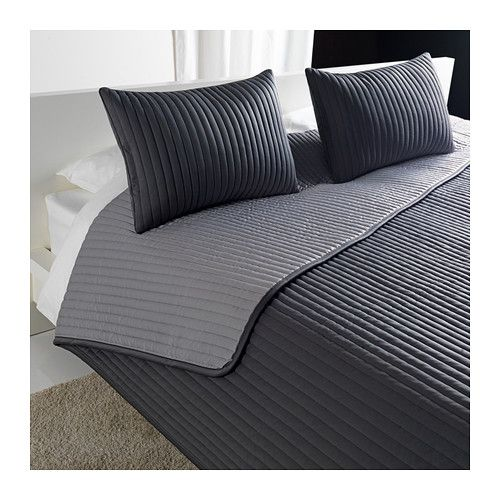 karit bedspread and 2 cushion covers ikea extra soft since the bedspread and cushion cover are. Black Bedroom Furniture Sets. Home Design Ideas