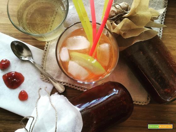 Sciroppo alla fragola  #ricette #food #recipes