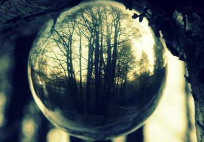 magical mirrored ball vision