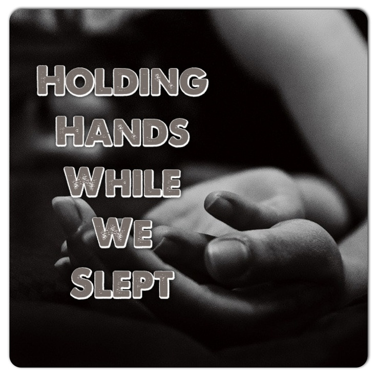 I bet I could hold your hand while we sleep... mmmmmm