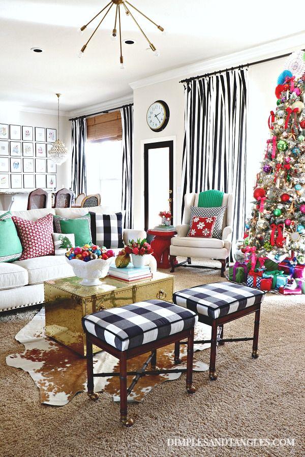2017 CHRISTMAS HOME TOUR PART 1 PORCH