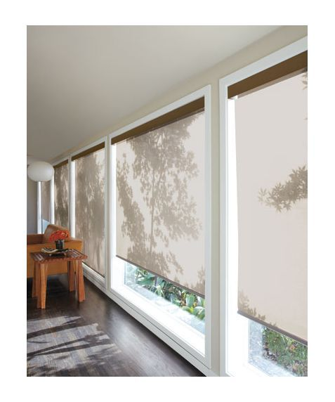 Solar shades is the simple and most elegant choice!