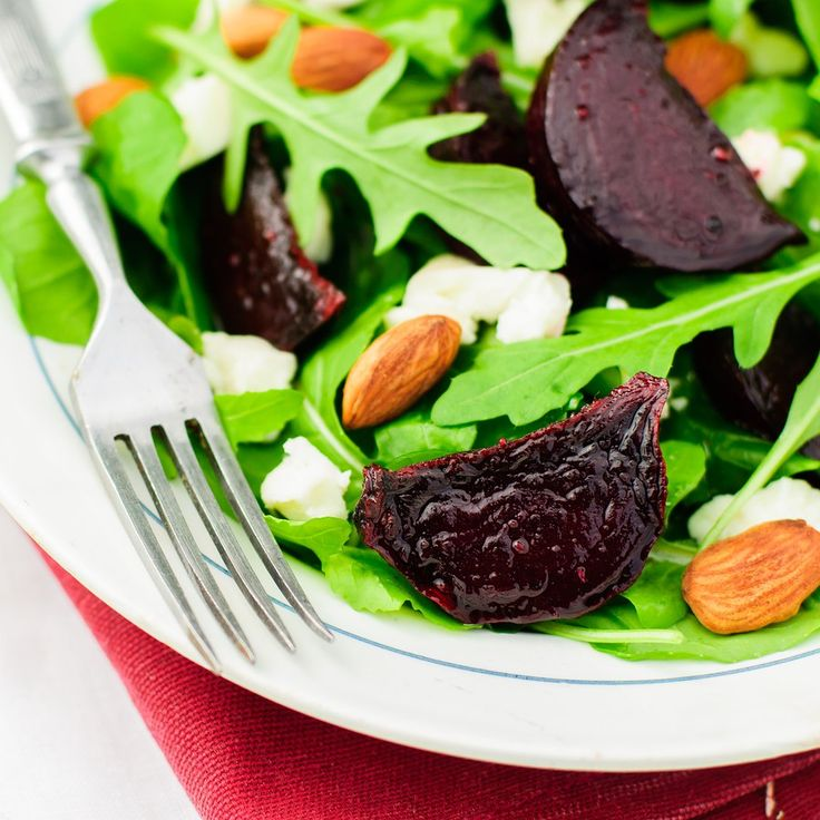 Warm Beetroot Salad with Goat's Cheese