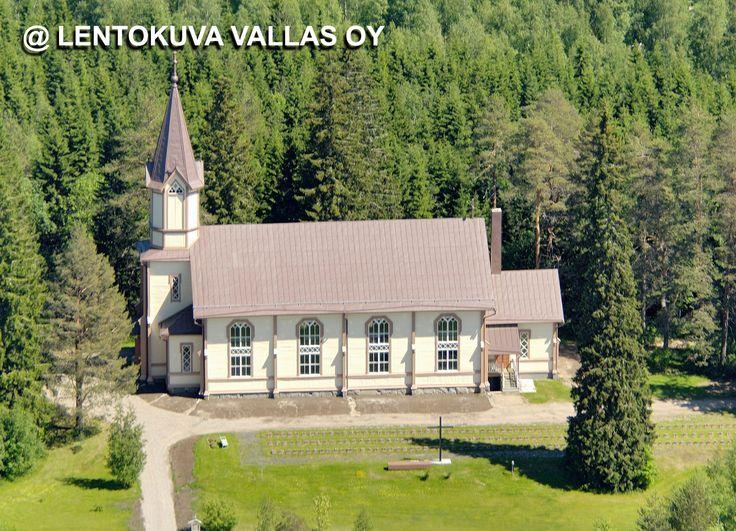 Tuupovaaran kirkko Ilmakuva: Lentokuva Vallas Oy