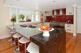 #designworx #kitchen #interiordesign #redkitchen