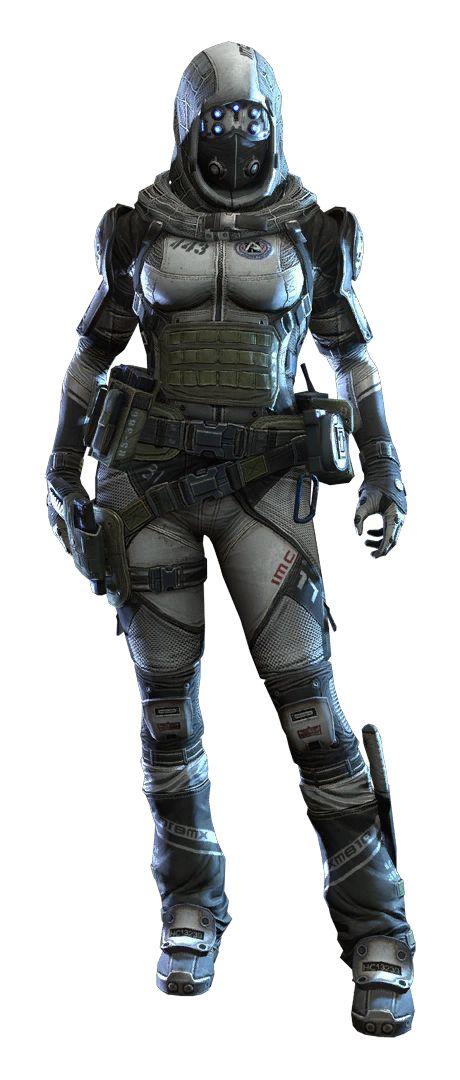 Titanfall sniper pilot | Concept Warriors | Pinterest