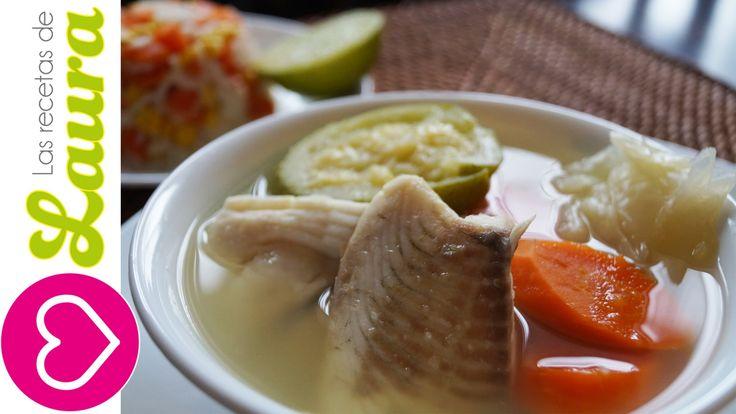 Caldo de Pescado con verduras♥Caldo de Oso♥Recetas Saludables para perde...