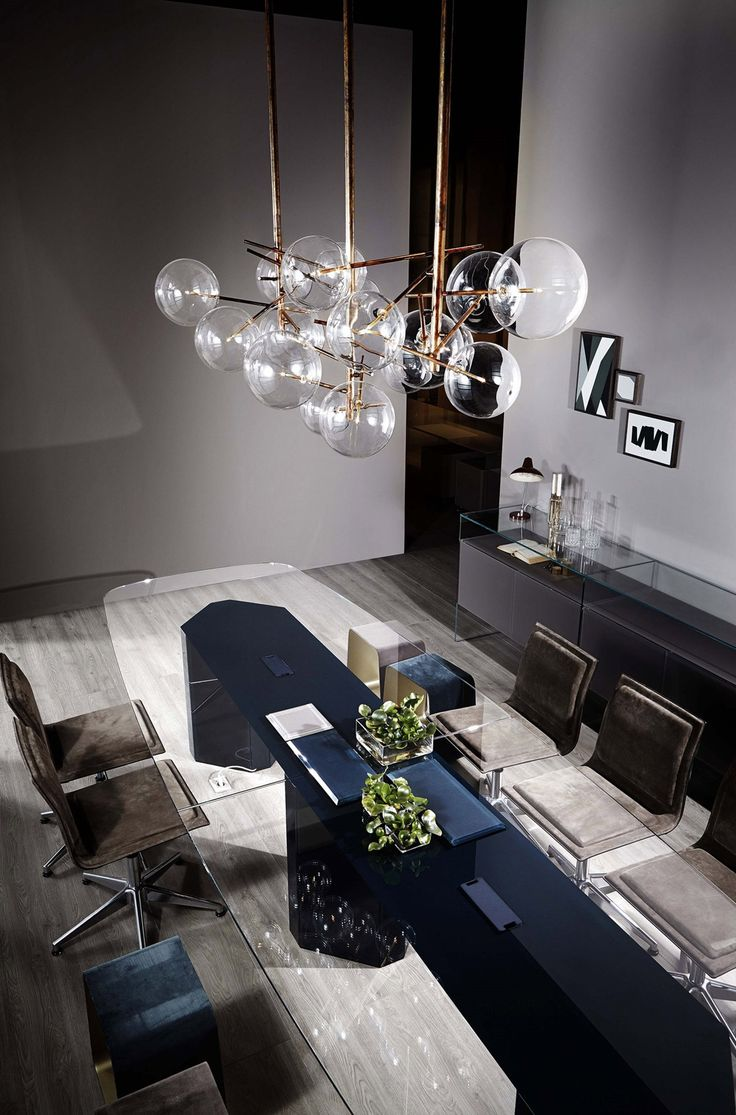 Bolle Pendant Lights By Gallotti Amp Radice Dining Room Buffet Table Dinner Tables Furniture