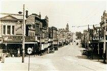 Bridge St,Ballarat,Victoria in 1924.