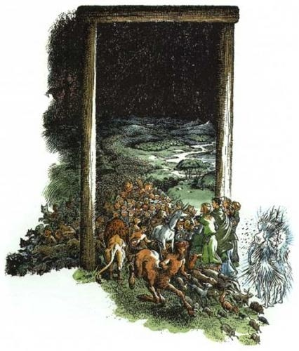 The Chronicles of Narnia: The Last Battle; The Gateway.