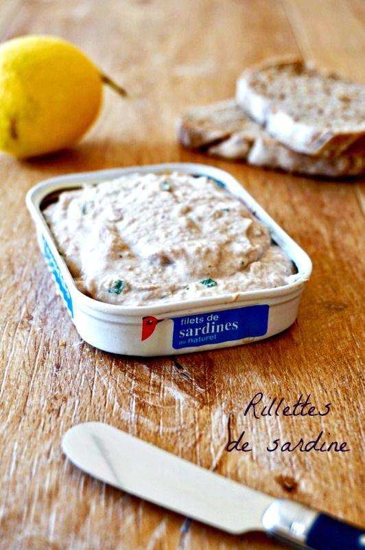 Envie d'un apéro léger dans tous les sens du terme? Voici des rillettes de sardines IG bas, une tartinade saine et pleine de goût!