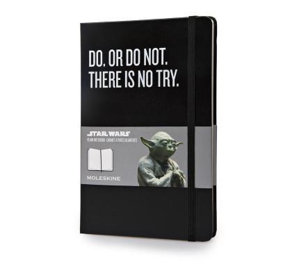 Star Wars - Caderno de Edição Limitada - Grande - Sem Pauta - Preto - Moleskine ®
