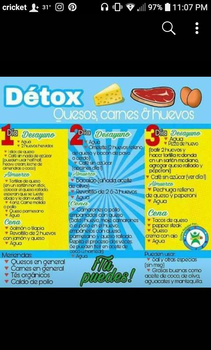 menu de dieta detox nu vrei să pierd greutatea