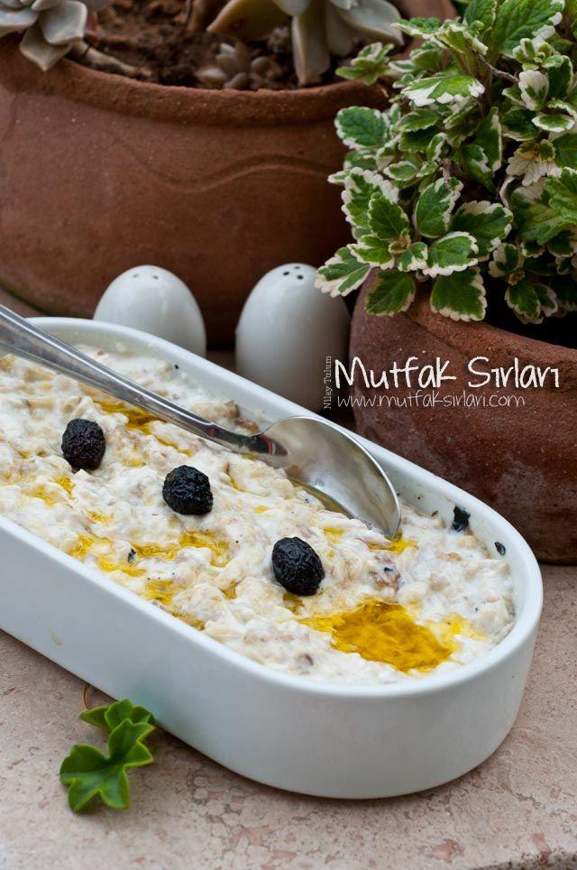 Yoğurtlu Patlıcan Salatası | Mutfak Sırları