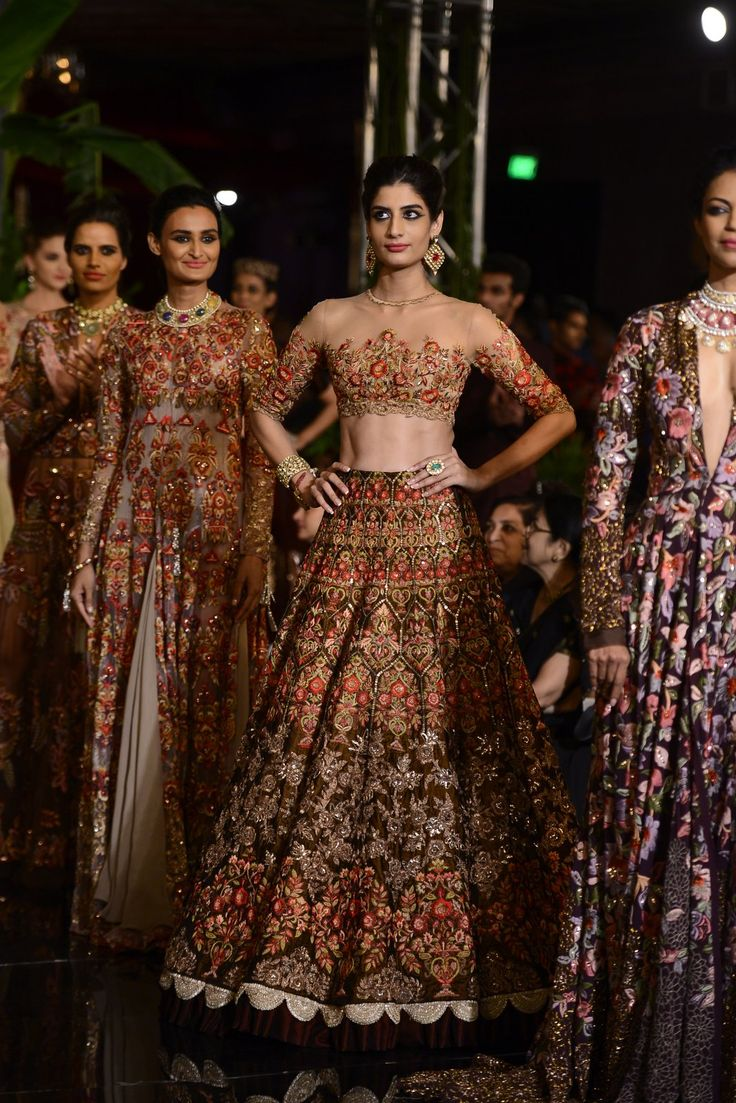 Indian wedding dresses by manish malhotra