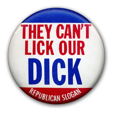 Richard Nixon 1968 Presidential Campaign Buttons......somebody didn't think this through