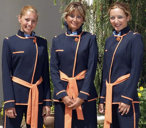 Freebird Airlines Turkey Cabin crew