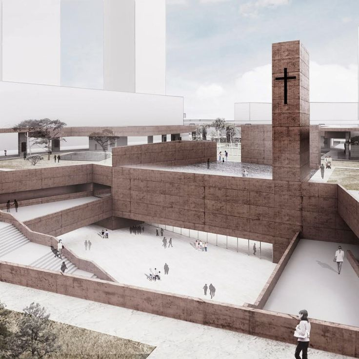 "PWFERRETTO Propose an ""Active Monument"" as Seoul's Seosomun Memorial Park"