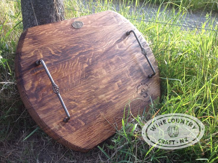 Made using a New Zealand wine barrel and includes personalised laser engraving. The ultimate wedding gift idea.