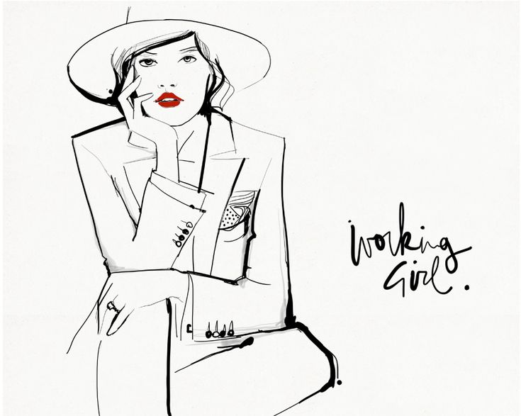 Working Girl / Garance Doré
