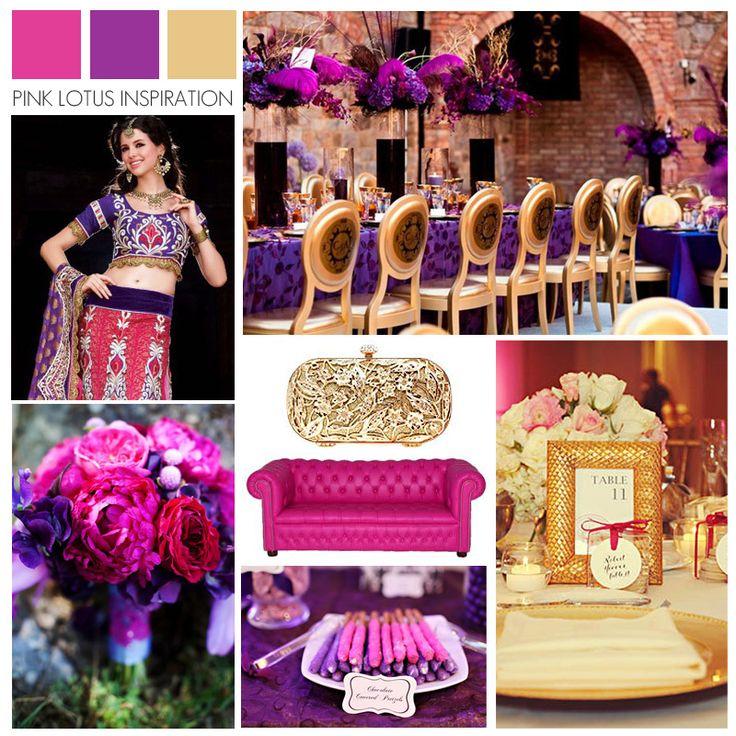 Pink Lotus Events: Best 25+ Purple Gold Weddings Ideas On Pinterest