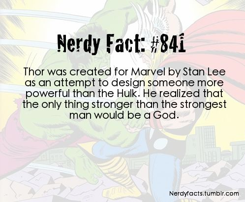 NerdyFacts. This also explains why the fights between them in Avengers were really kind of awesome. The end.