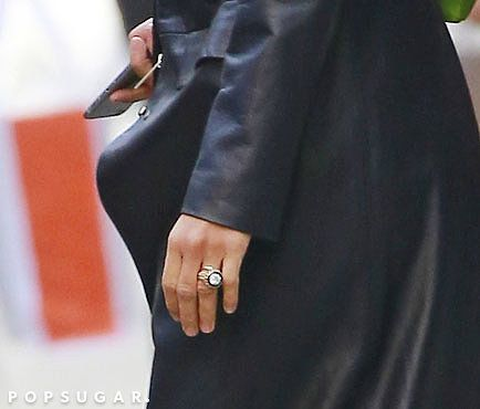 Very nice!| Mary-Kate Olsen's Engagement and Wedding Rings | POPSUGAR Fashion