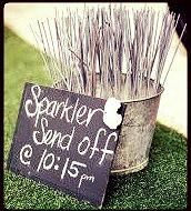 www.budgetweddinghiregoldcoast.com  Sparkler Bucket Sparkler Send Off Gold Coast Wedding Budget Wedding