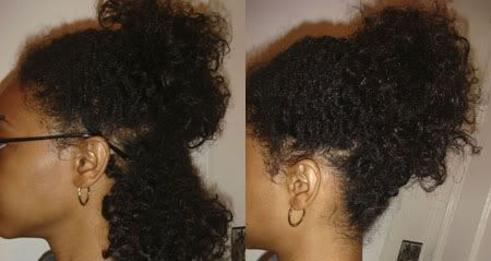 Twist Out On Transitional Hair Relaxed To Natural