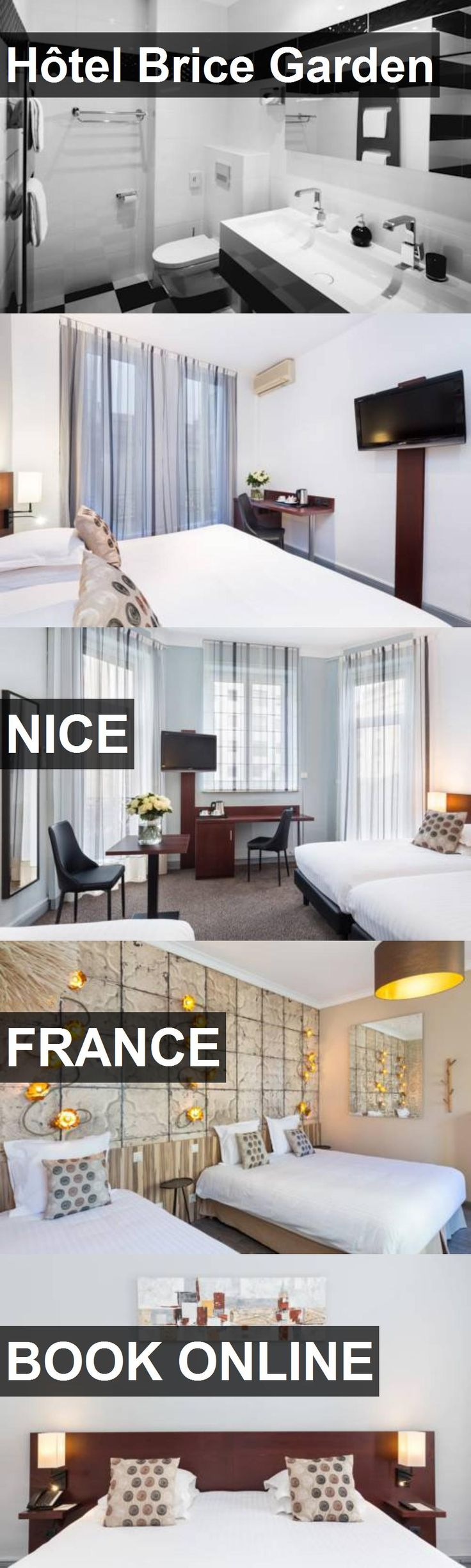 Hotel Hôtel Brice Garden in Nice, France. For more information, photos, reviews and best prices please follow the link. #France #Nice #travel #vacation #hotel