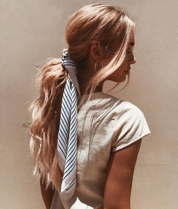 50 Newest Hairstyles With Scarfs Concepts For Girls