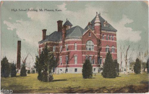 McPherson, Kansas High School built by John McDonald Anderson