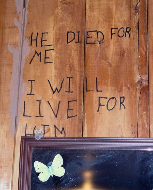I Will Live For Him The Camp Graffiti Project