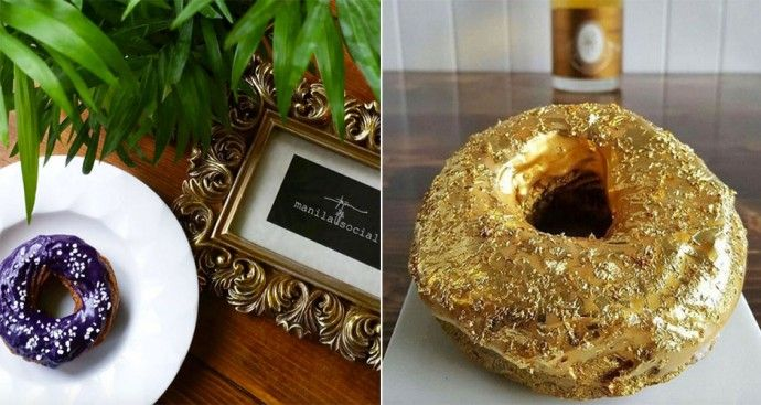 A Brooklyn restaurant is serving a $100 doughnut covered with gold flakes