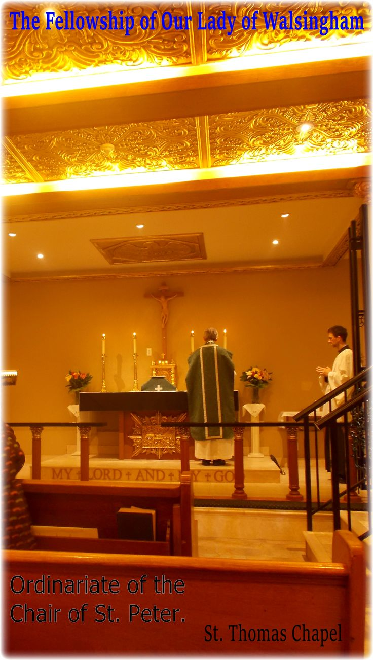 Personal Ordinariate of the Chair of St. Peter.// St