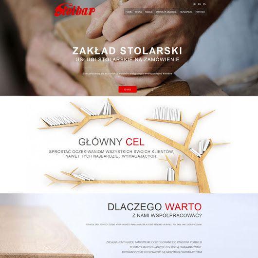 Webdesign: Stolbar -Furniture www.stolbar.com #wood #furniture #website #webdesign