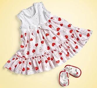 Söpö mekko pikkuneidille!