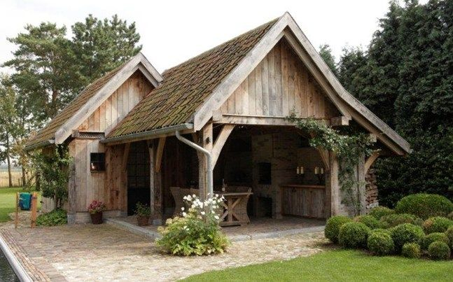 Bijgebouwen - Timeless Wood - Masters in outdoor wood projects