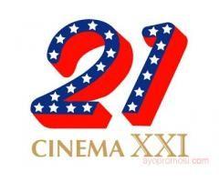 Cinema 21 #ayopromosi #gratis http://www.ayopromosi.com/