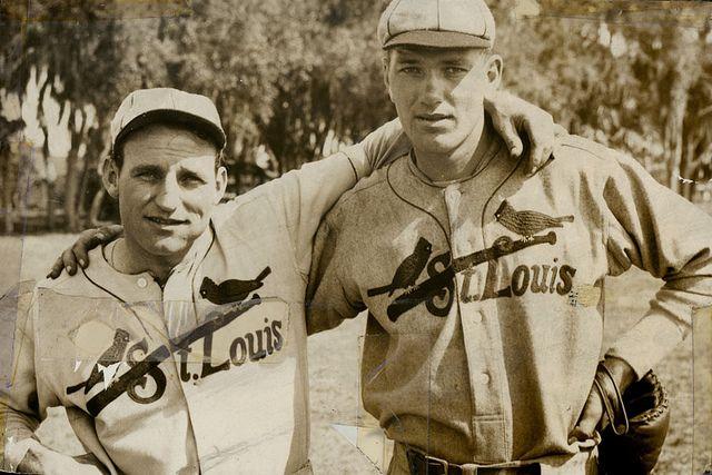 Pepper Martin and Dizzy Dean- ca. 1934