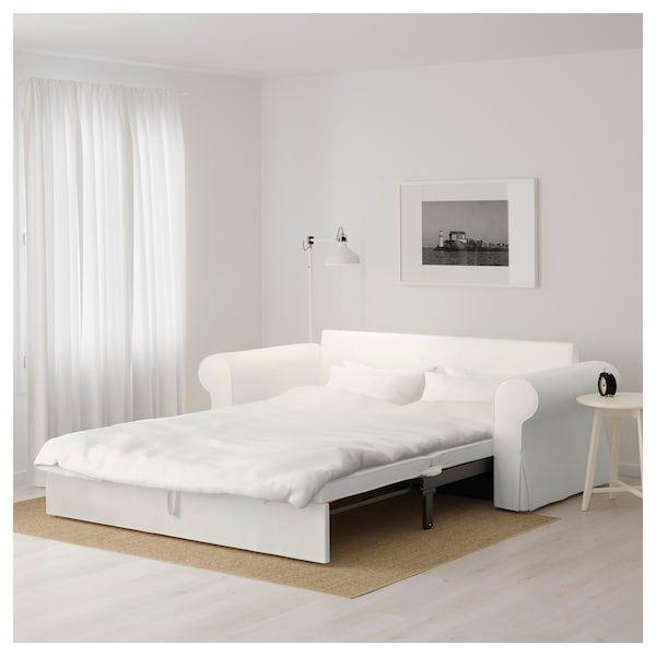 Poltrona Letto Ikea Prezzi.Backabro Divano Letto A 3 Posti Hylte Bianco Divano Letto Ikea