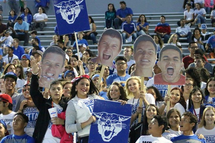 student section ideas/ football game posters