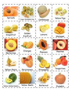 Preschool Is Fun Planning Activities: Fruits/Vegetables