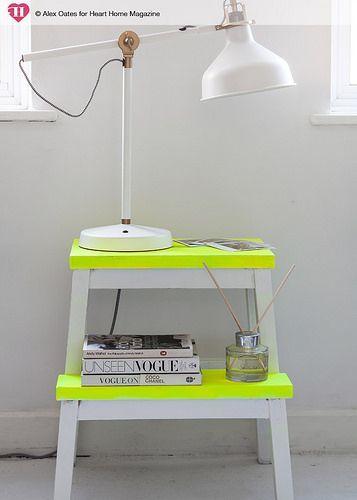9 mesas de luz que podés hacer vos con muy poco esfuerzo, pero quedan muy lindas